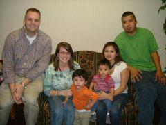 The proud family of Baby Wyatt Andrew