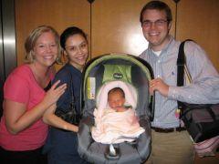Baby Caroline Ada Joy
