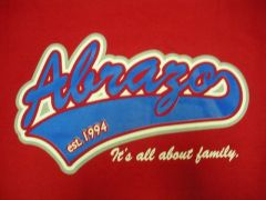 """""""Its all about family""""  (red)"""