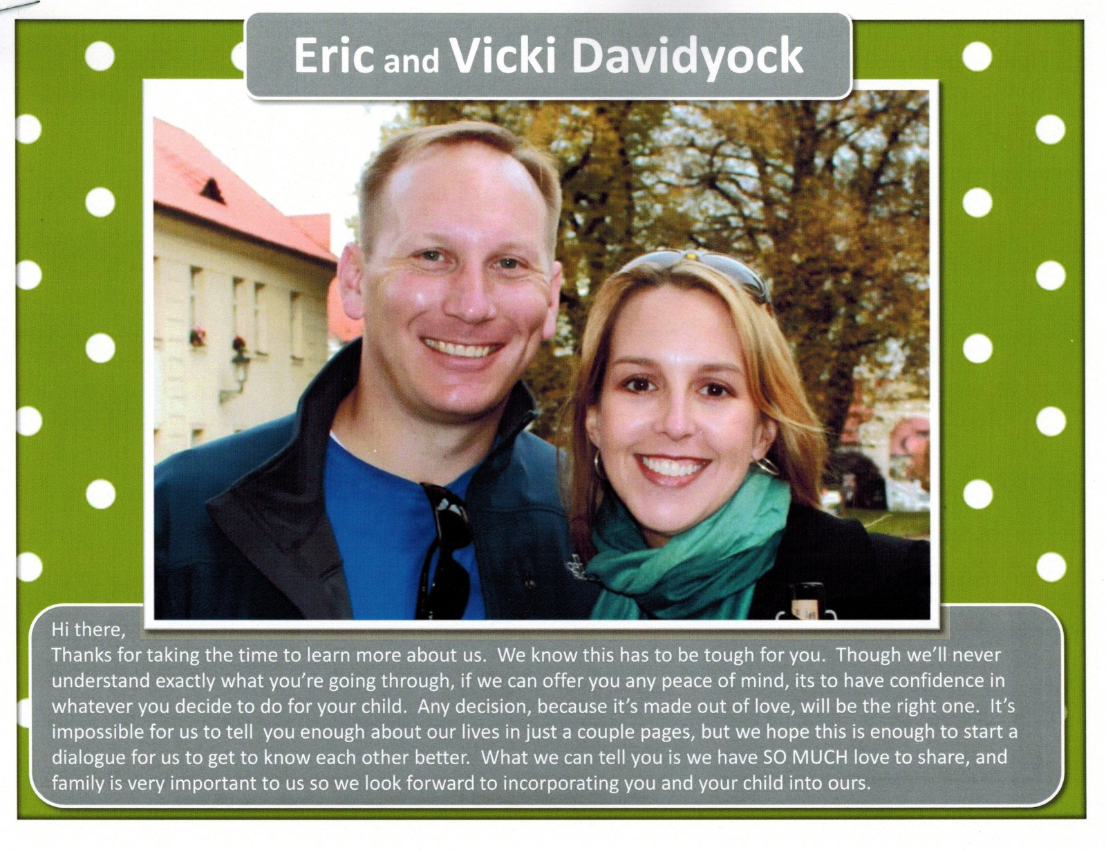 ERIC & VICTORIA