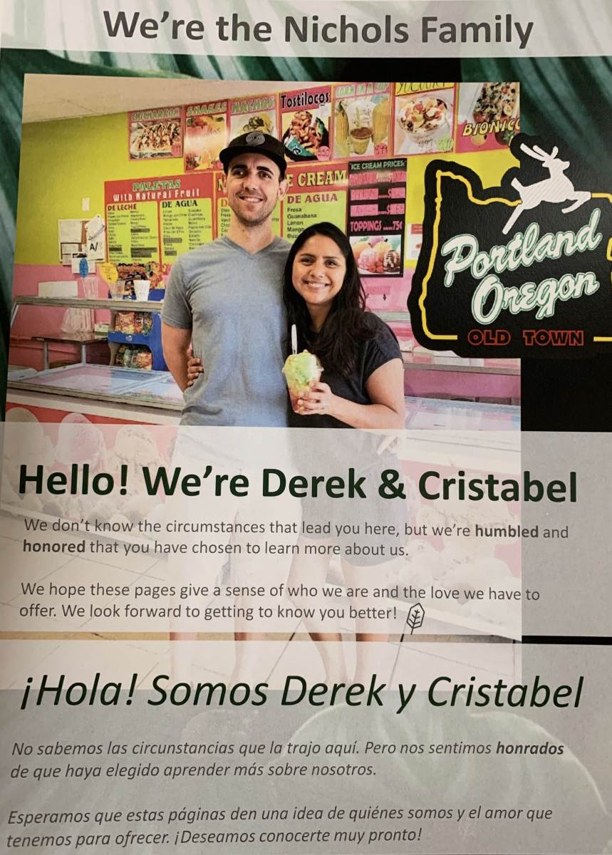 DEREK & CRISTABEL (OR)